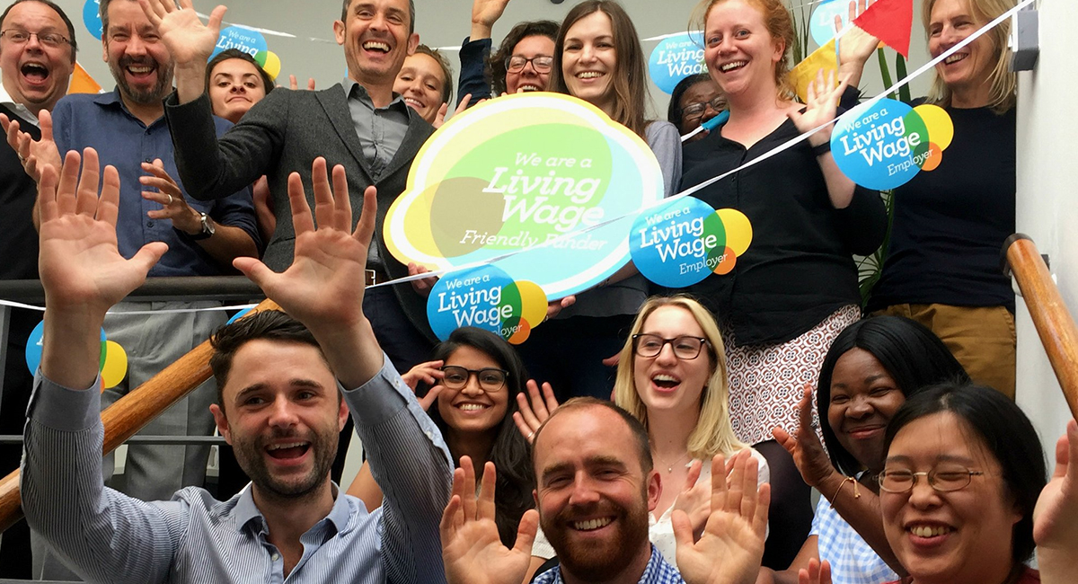 friendly funders living wage foundation