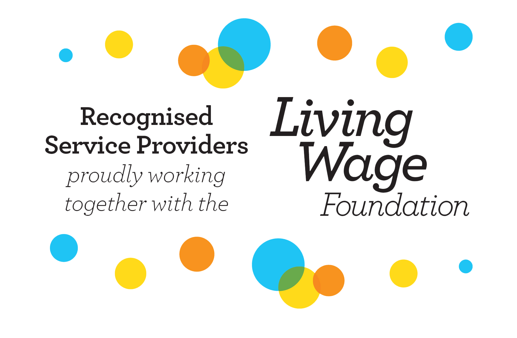 recognised service providers living wage foundation