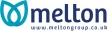 Melton Group logo with melton written in navy letters