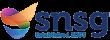 SNSG logo written in navy letters with 'Established 2003' written beneath