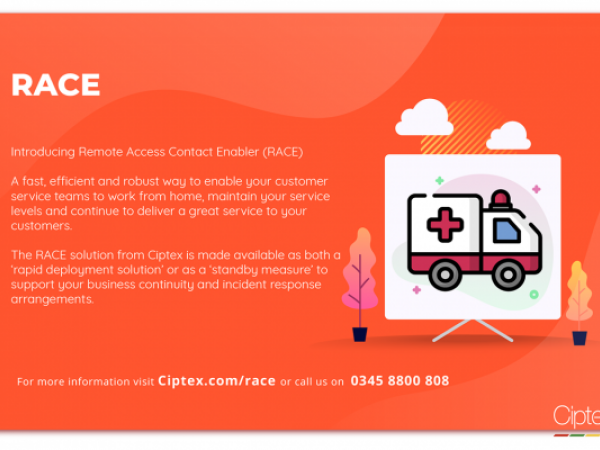 Introducing Remote Access Contact Enabler (RACE)